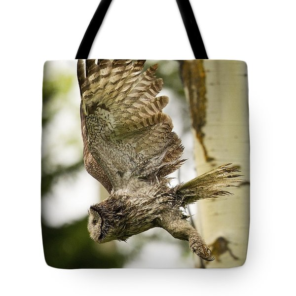 Tote Bag featuring the photograph On Silent Wings by Aaron Whittemore