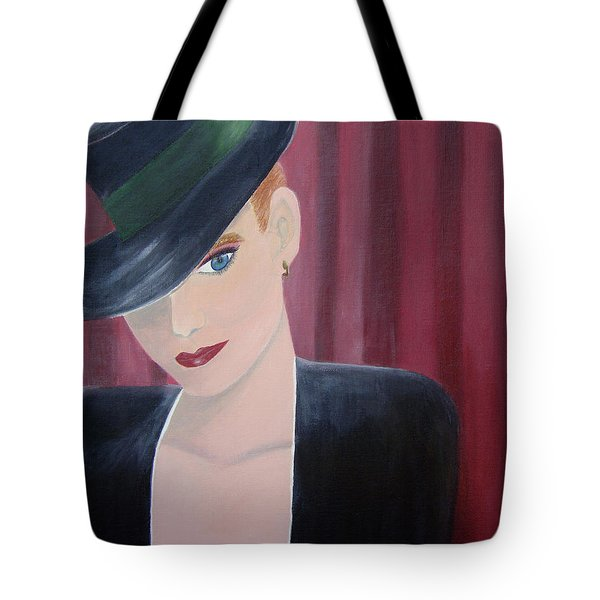 On Stage Tote Bag by Donna Blackhall