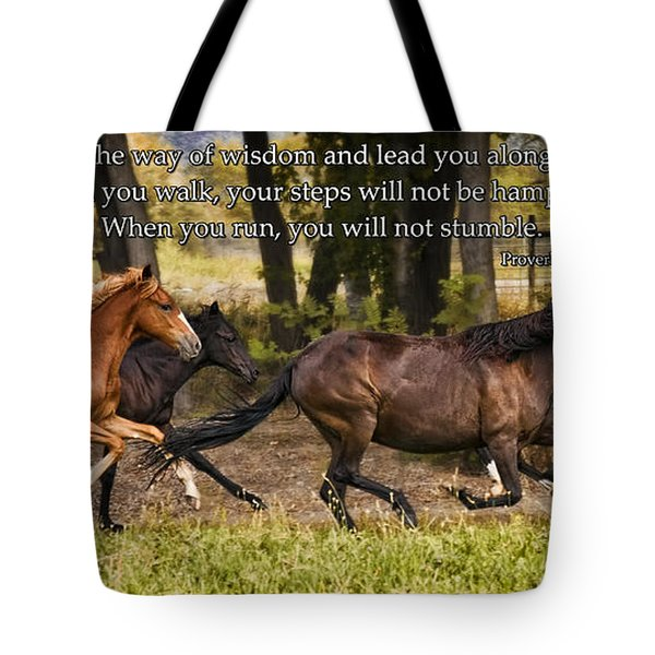 On Straight Paths Tote Bag