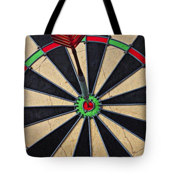 On Target Bullseye Tote Bag by Garry Gay