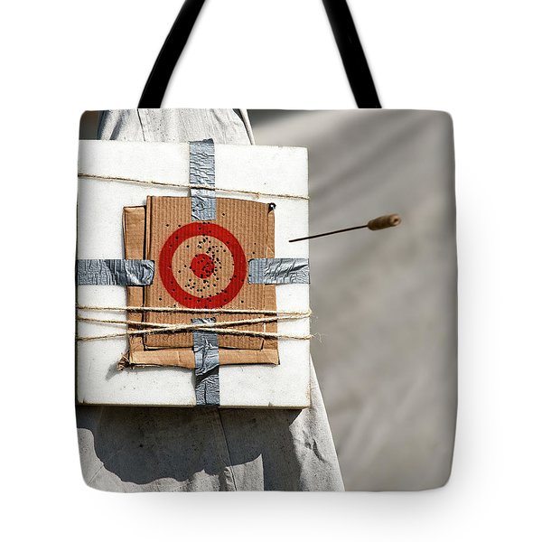 On Target Tote Bag by Christopher Holmes