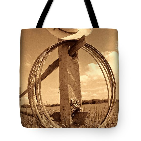 On The American Ranch Tote Bag