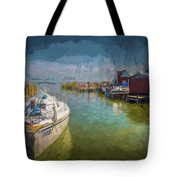On The Baltic Sea Tote Bag