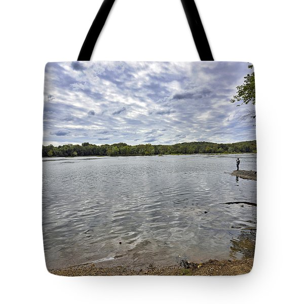On The Banks Of The Potomac River Tote Bag