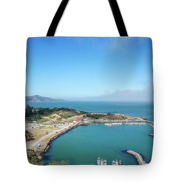 On The Bay Tote Bag