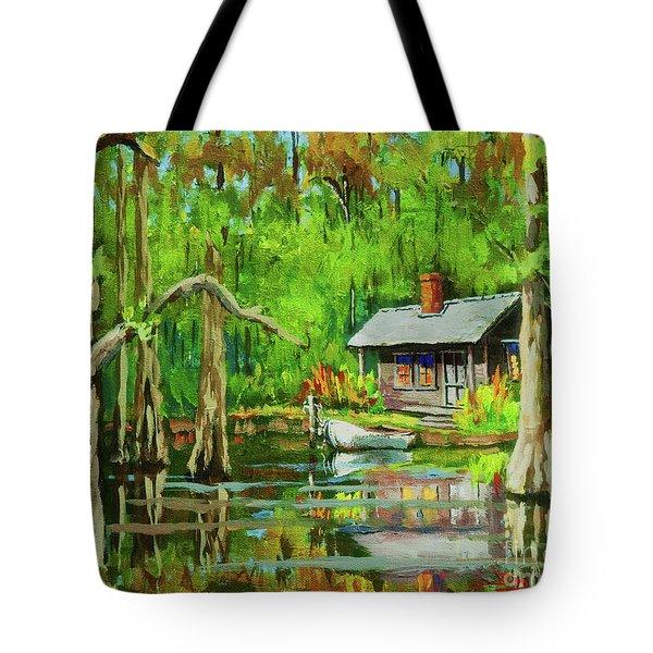 On The Bayou Tote Bag