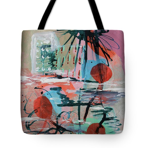 On The Beach Tote Bag