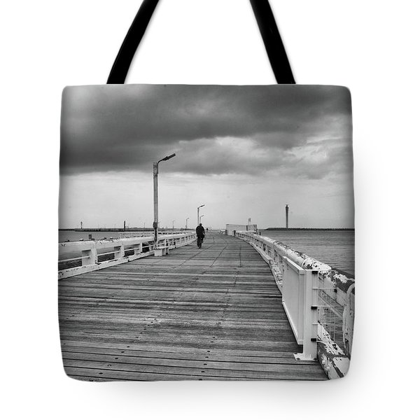 On The Boardwalk 2 Tote Bag