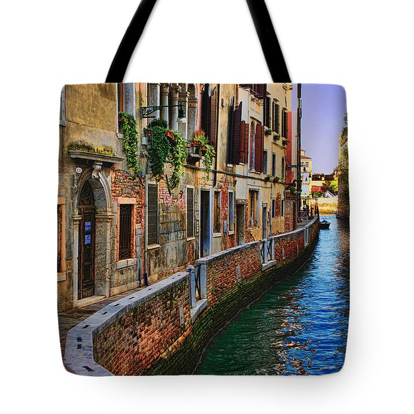 On The Canal-venice Tote Bag
