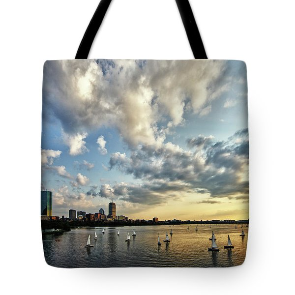 On The Charles II Tote Bag by Rick Berk