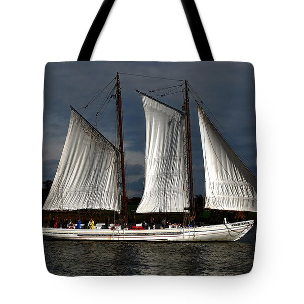 The A. J. Meerwald Tote Bag by Richard Ortolano