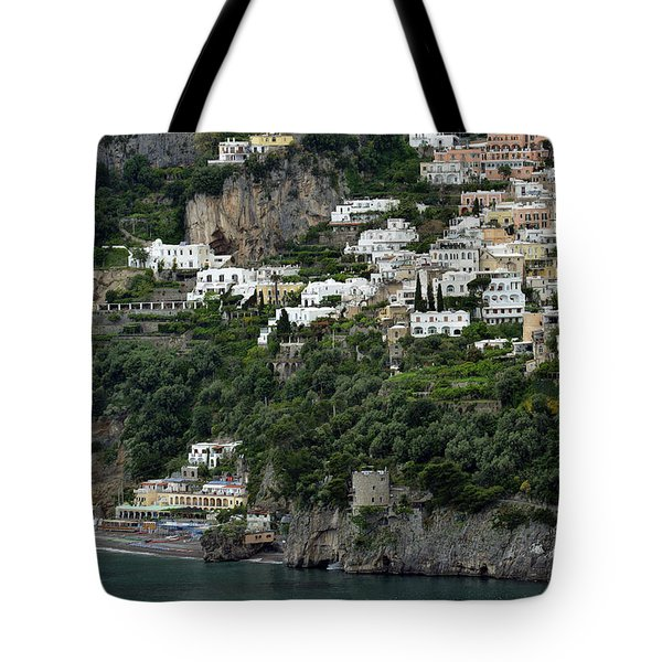 On The Coastal Road Tote Bag