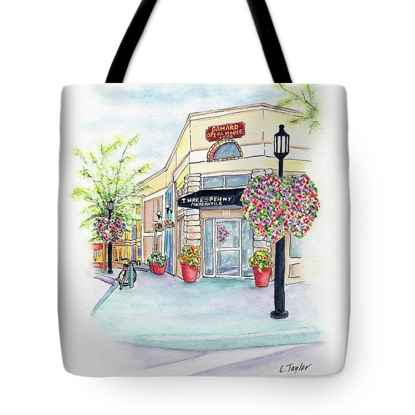 On The Corner Tote Bag