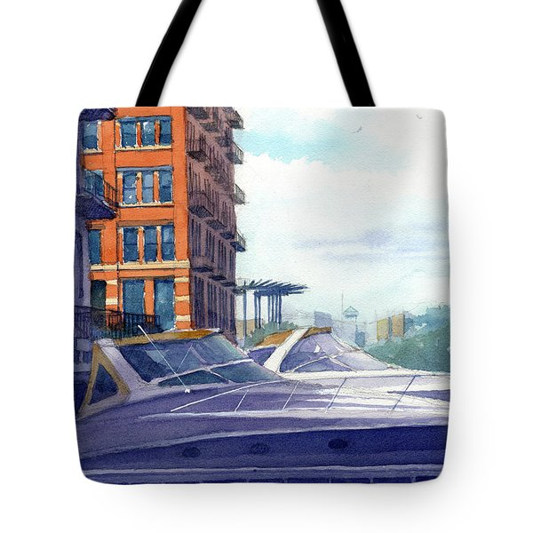 On The Docks Tote Bag