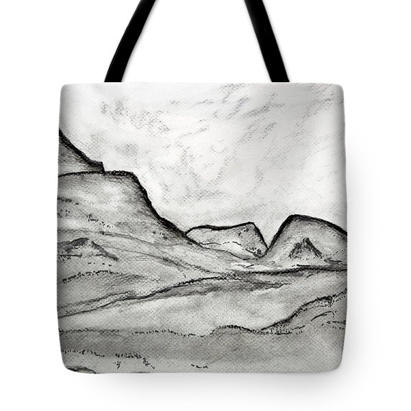 On The East Face Tote Bag