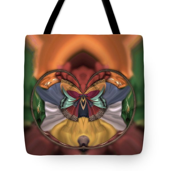 On The Edge Of Chaos Tote Bag