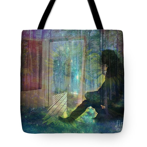 On The Edge Of Summerland 2015 Tote Bag