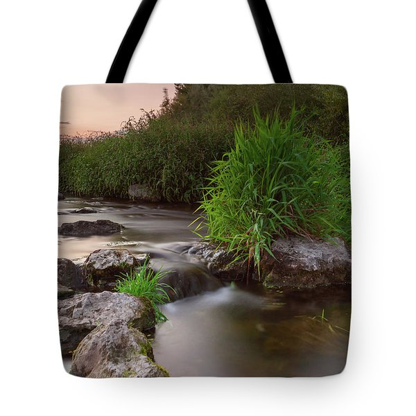 On The Edge Of Time Tote Bag