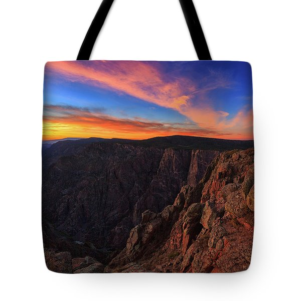 Tote Bag featuring the photograph On The Edge by Rick Furmanek