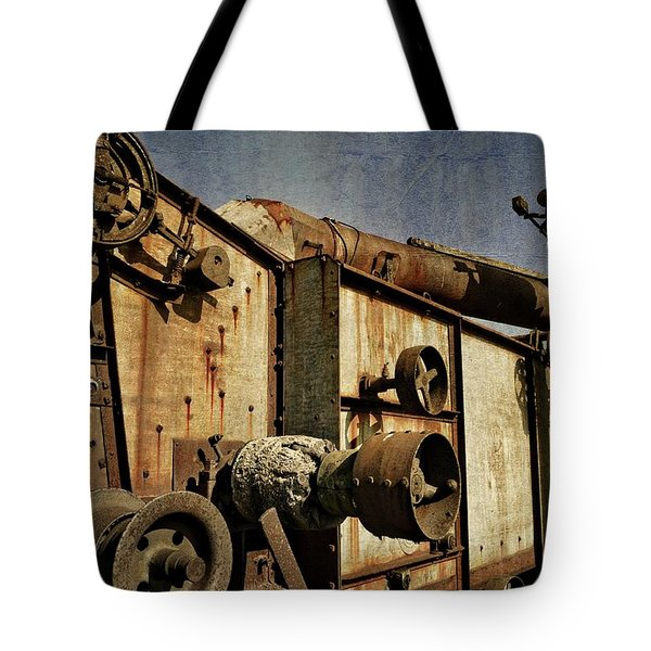 Tote Bag featuring the photograph On The Farm 2.0 by Michelle Calkins