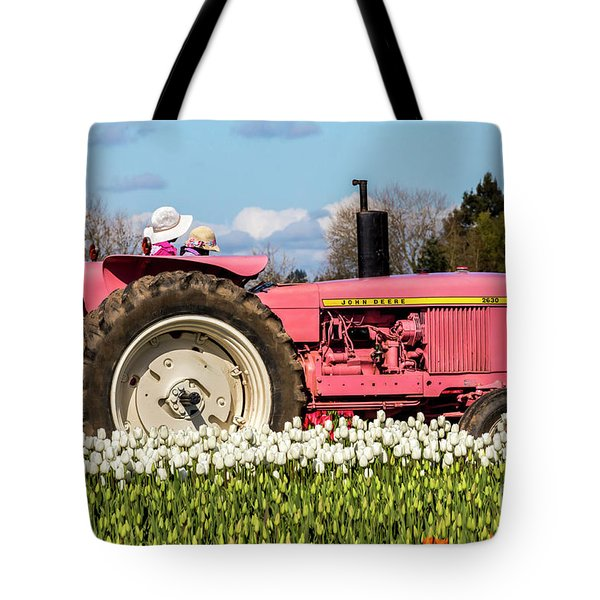 On The Field Of Beauty Tote Bag