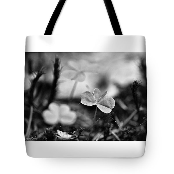 On The Forest Floor  #monochrome Tote Bag