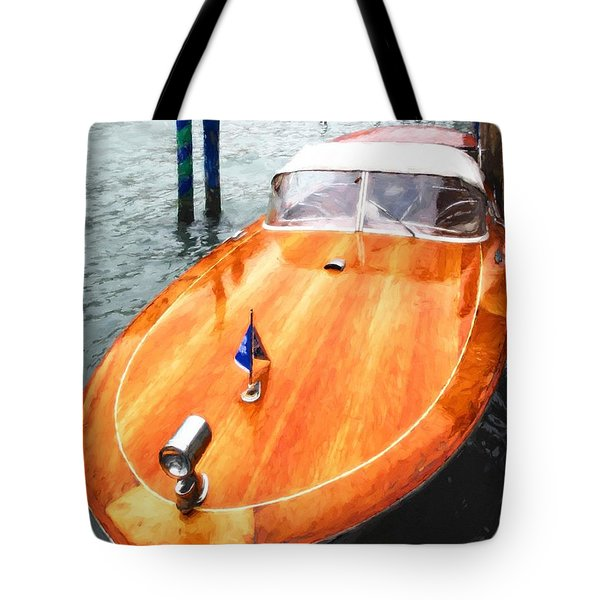Tote Bag featuring the photograph On The Grand Canal by Mel Steinhauer
