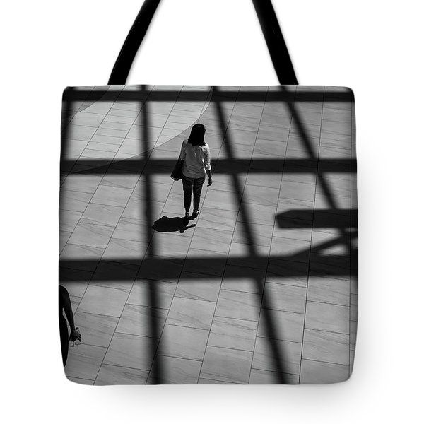 Tote Bag featuring the photograph On The Grid by Eric Lake