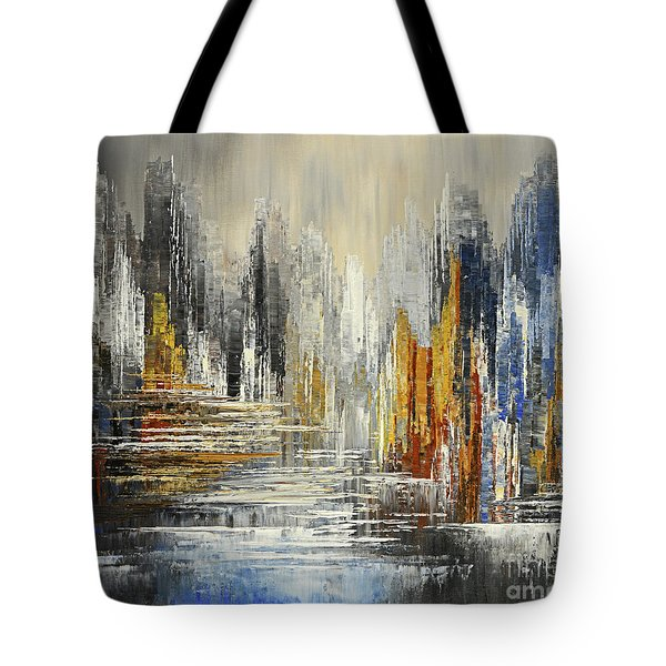 On The Hills Of Dream Tote Bag