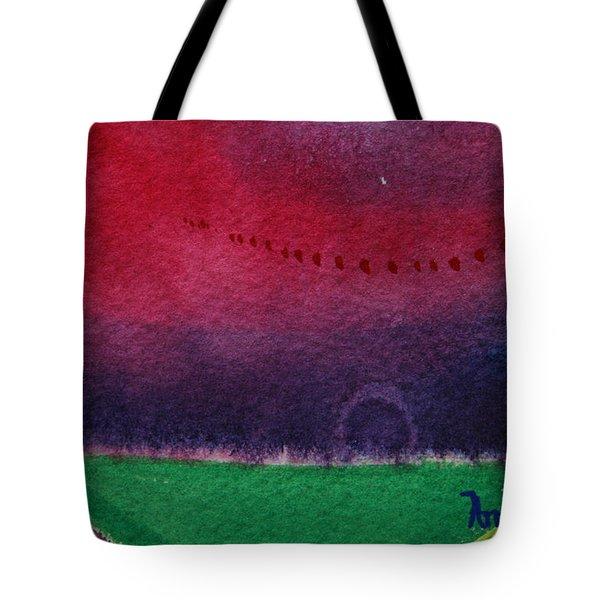 On The Horizon Tote Bag by Ann Sokolovich
