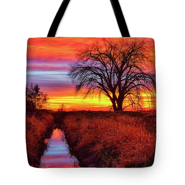 Tote Bag featuring the photograph On The Horizon by Greg Norrell