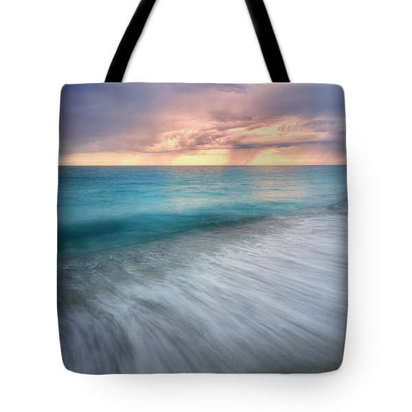 On The Horizon  Tote Bag by Nicki Frates