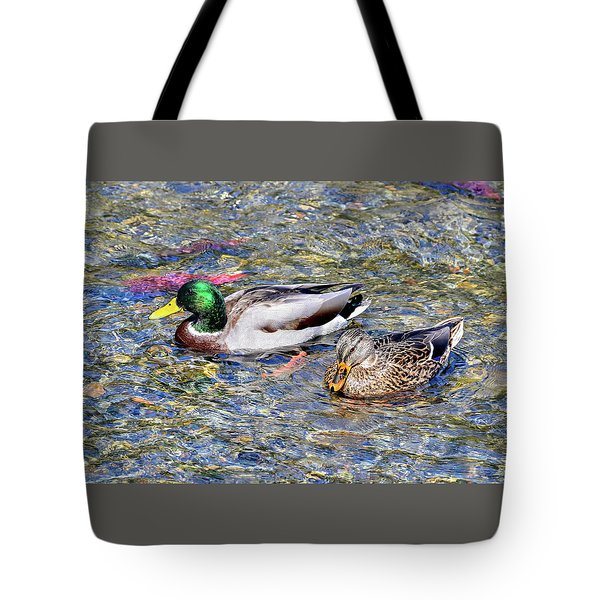 Tote Bag featuring the photograph On The Hunt by David Lawson