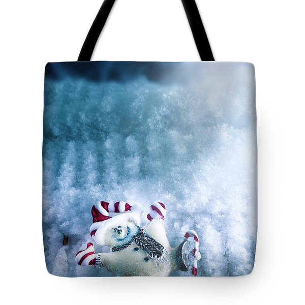 On The Ice Tote Bag