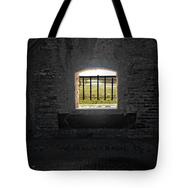 On The Inside Looking Out Tote Bag