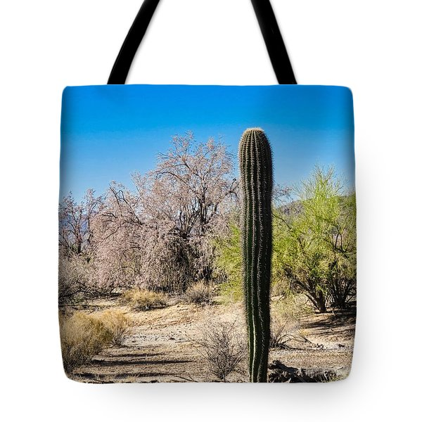 On The Ironwood Trail Tote Bag
