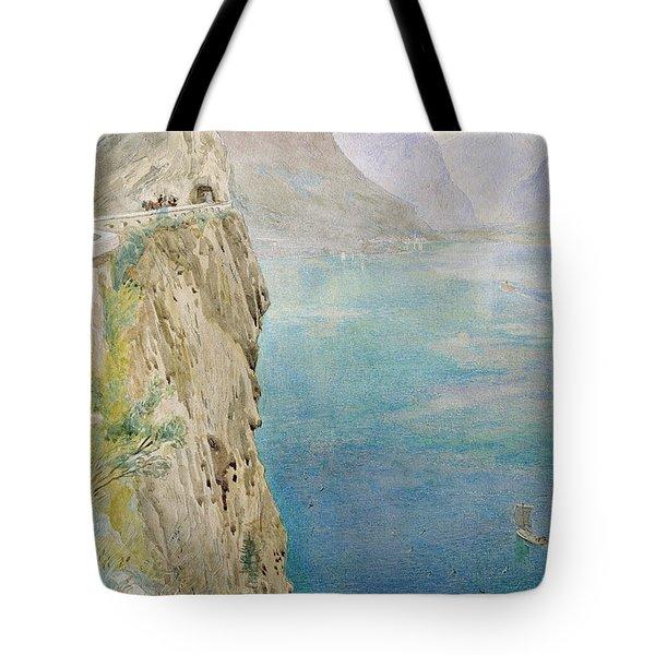 On The Italian Coast Tote Bag by Harry Goodwin