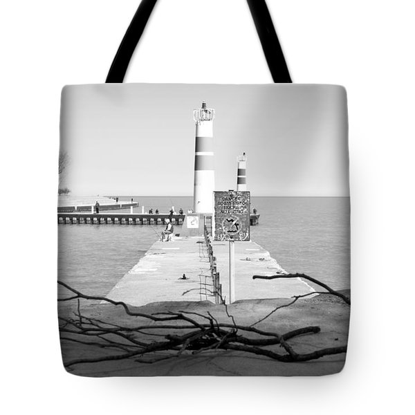 On The Lake Shore Tote Bag by Milena Ilieva