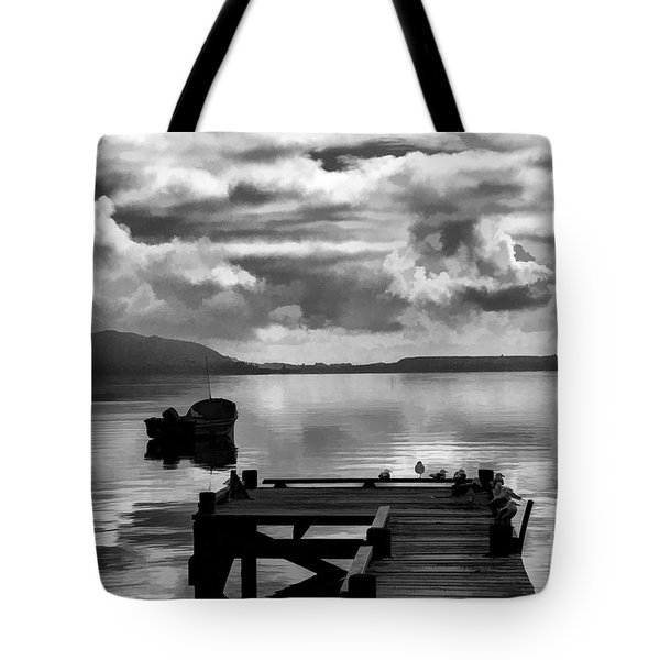 On The Lakes Tote Bag