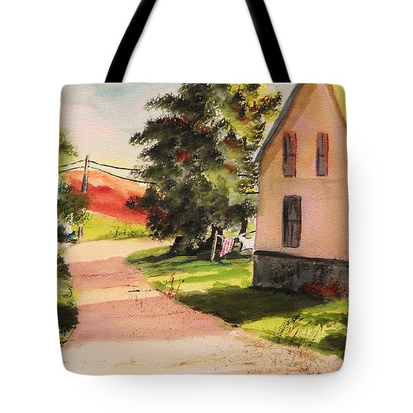 On The Line Tote Bag by John Williams