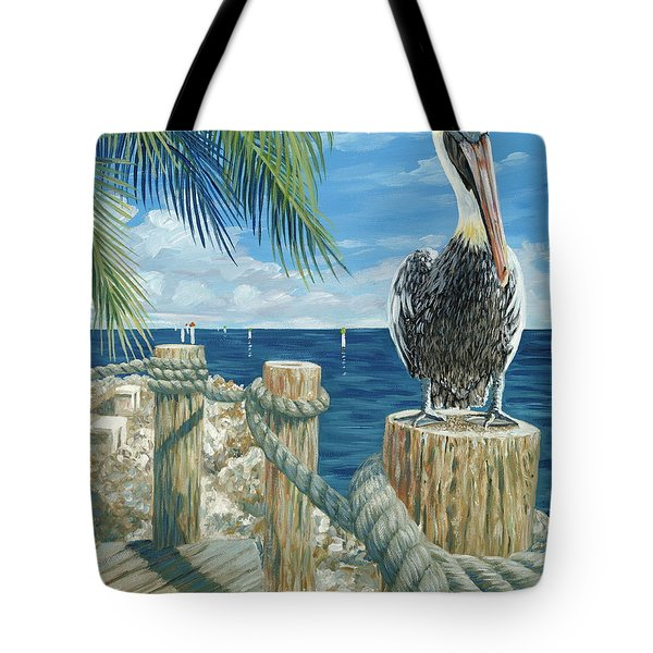 On The Lookout Tote Bag by Danielle  Perry
