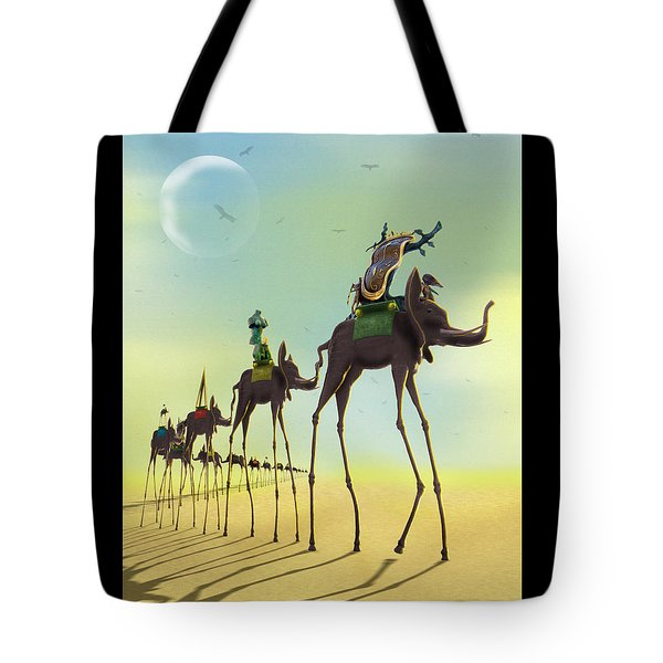 On The Move 2 Tote Bag by Mike McGlothlen