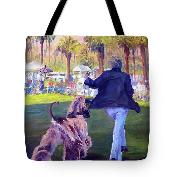 On The Move Tote Bag by Terry  Chacon