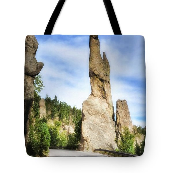 On The Needles Highway 1 Tote Bag
