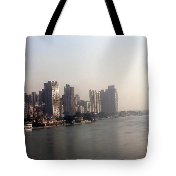 On The Nile River Tote Bag