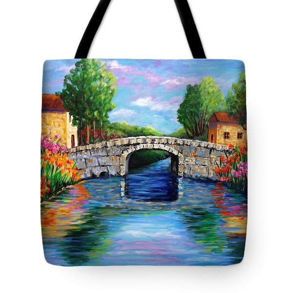 On The Other Side Of The Bridge Tote Bag