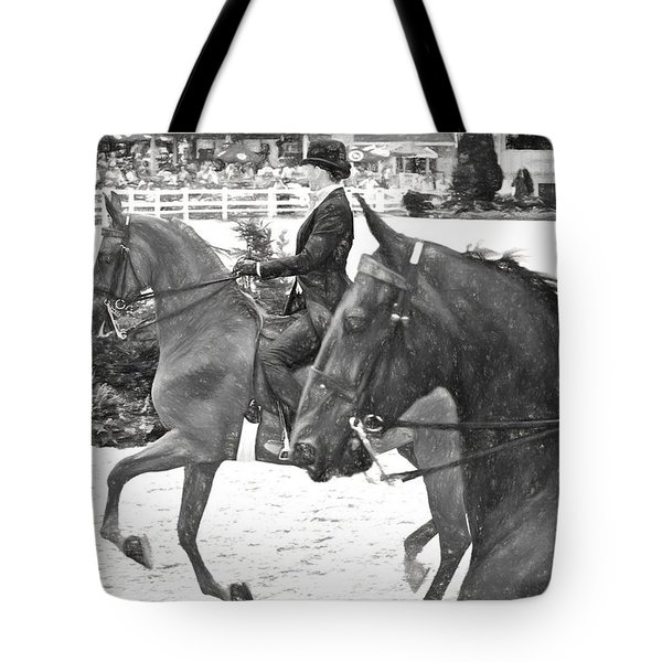 On The Outside Charcoal Tote Bag