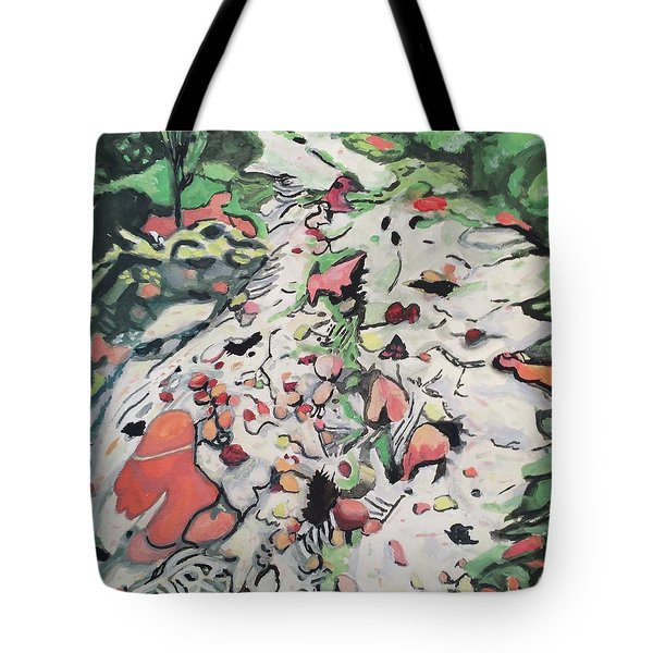 On The Path Tote Bag