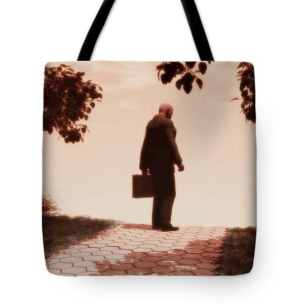 On The Path To Nowhere Tote Bag