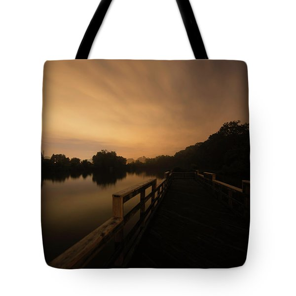 On The Pier Tote Bag